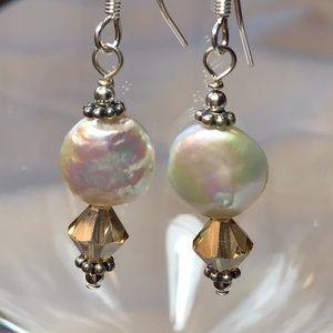 Jewelry - 🎉SALE🎉Sterling, Swarovski Crystal & FWP Earrings